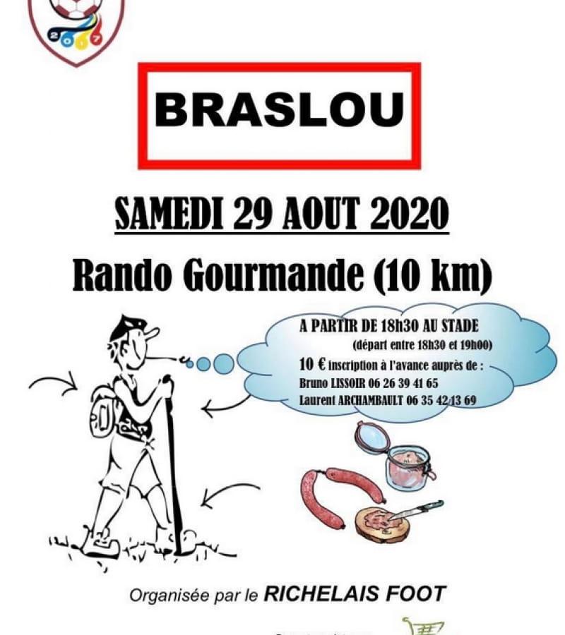 rando gourmande Braslou 2020