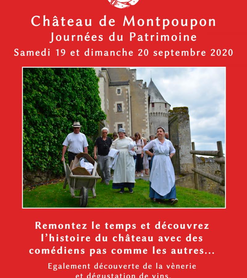 Chateau-montpoupon-journees-patrimoine. affiche